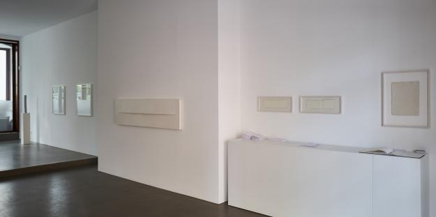 "Galerie Pugliese Levi, ""almost nothing"" (exhibition view)"