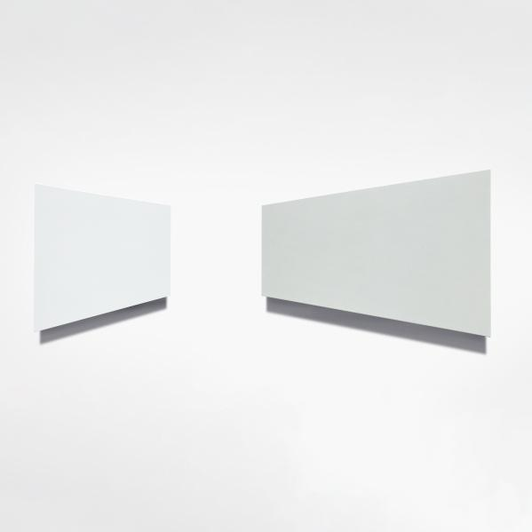 Shawn Stipling, Idea for a white environment (diptych), 2020